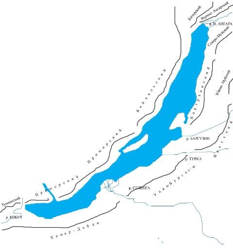 Схема Байкальского свода